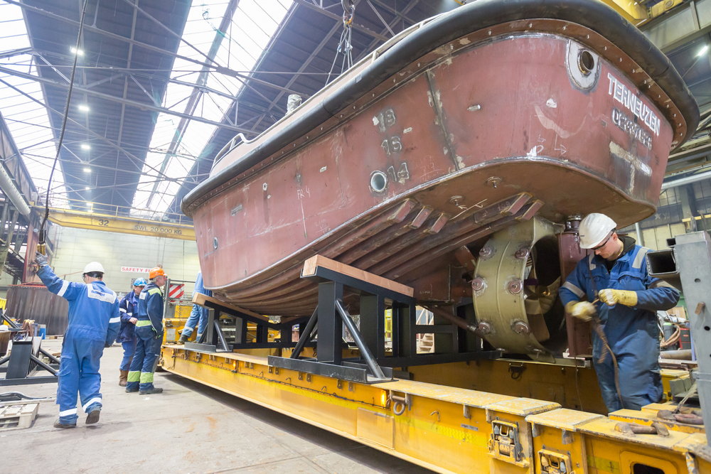Niron Staal fabricates two Stan Launch 804s for Damen