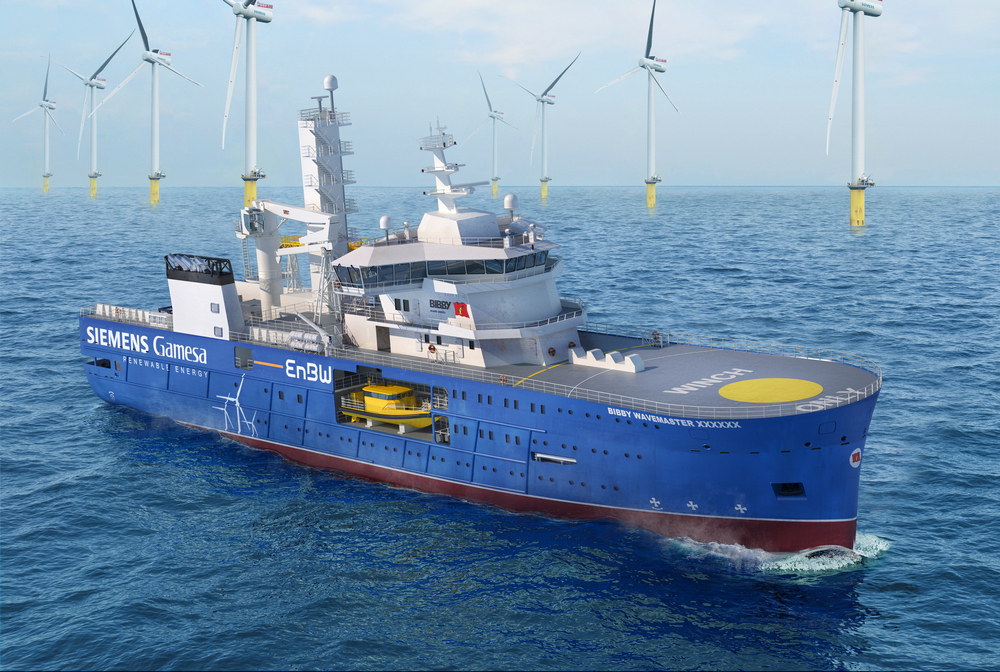 Keel-laying ceremony for second Bibby Wavemaster takes place